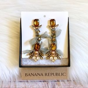 Banana Republic Dramatic Statement Earrings